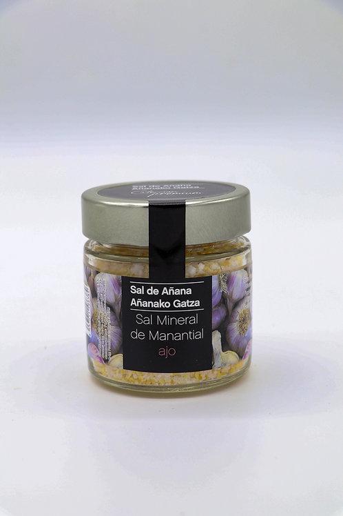 Sal Mineral de Manantial con Ajo (Sal de Añana)