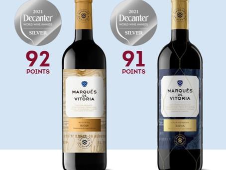 """Marqués de Vitoria: """"Dos nuevas medallas para nuestros vinos"""""""
