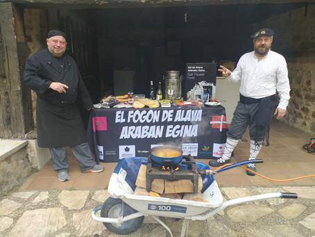 El Euskoalavés se desplaza hasta Jugatxi (Álava) para cocinar una deliciosa Alubia pinta alavesa