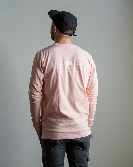 The Sweet Life Winter 2019 Long Sleeve Tee Pale Pink Back