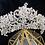 Thumbnail: Coroa de Noivas em Cristais Tchecos - Crystal