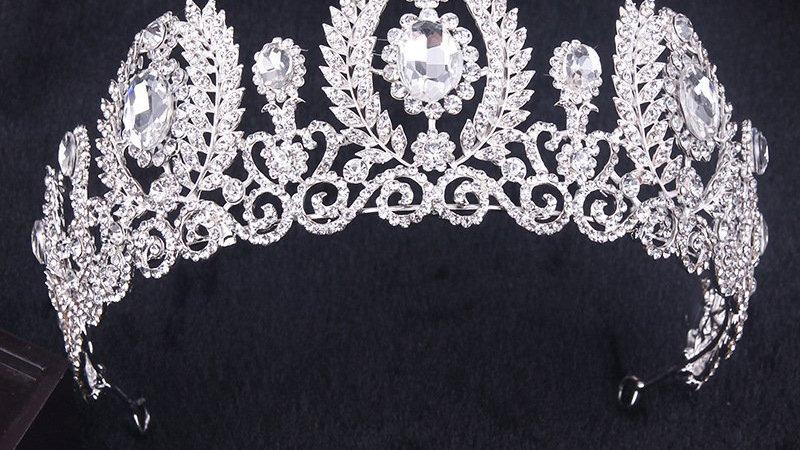 Coroa em Strass Alta - Rainha Elizabeth
