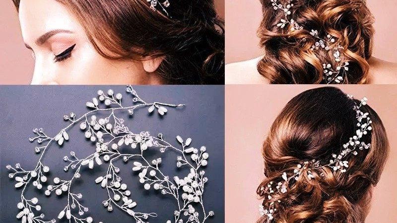 Headband para noivas Diamond