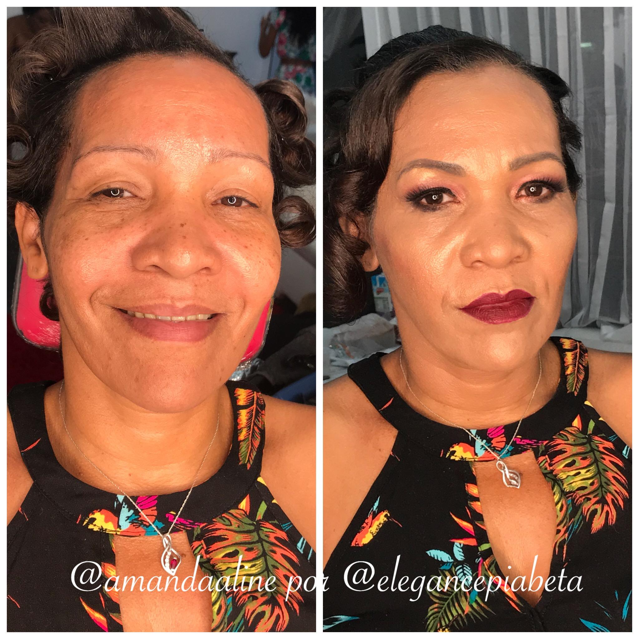 maquiagem mae da noiva pele madura