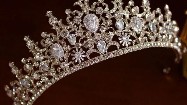 Tiara Coroa de Noivas - Thamis