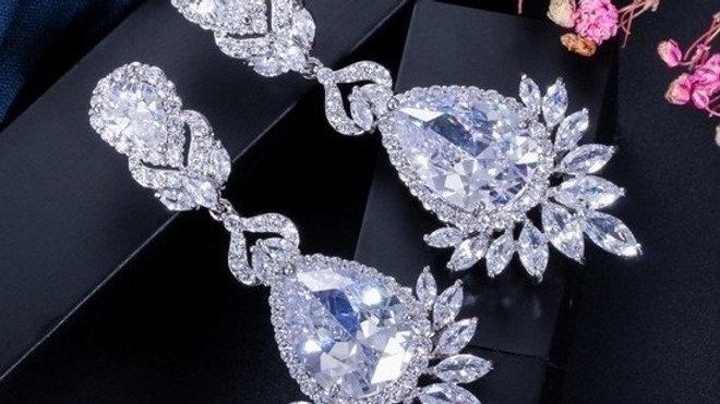 Brinco de Diamantes Híbridos - Hebe