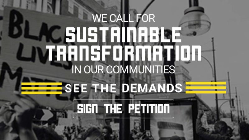 Take Action - Sign the Petition