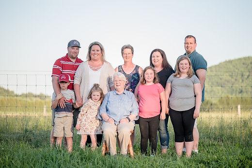Sherman Farm Family