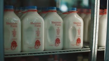 Sherman Farm Milk