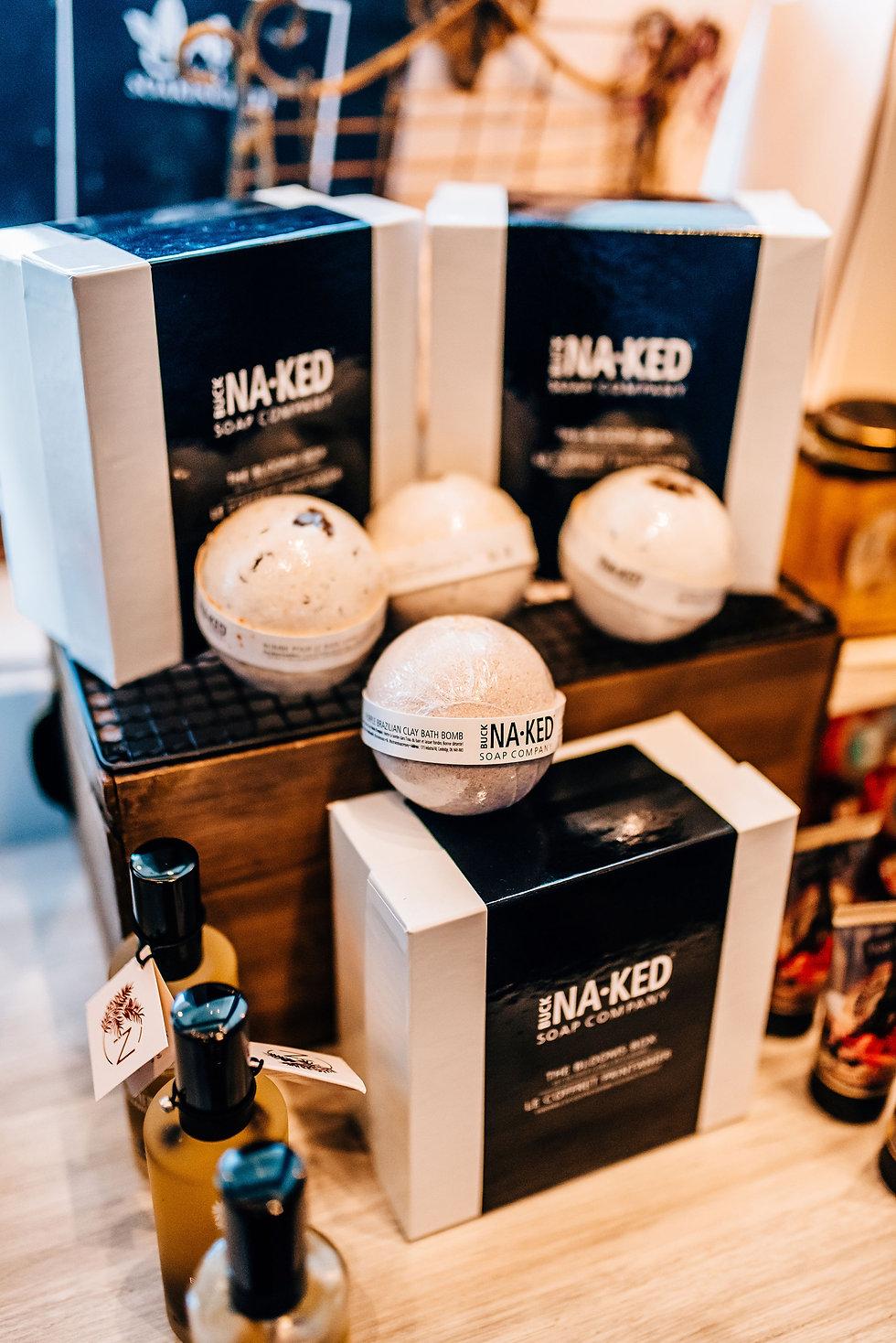 Buck Naked Bath Bombs
