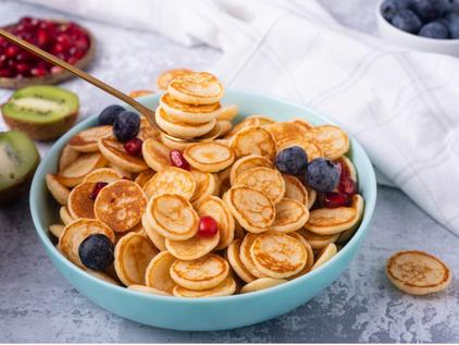 Gluten-Free Mini Pancake Cereal