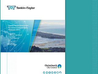 Technical reports – Coastal Hazard Assessment 2017 CCC