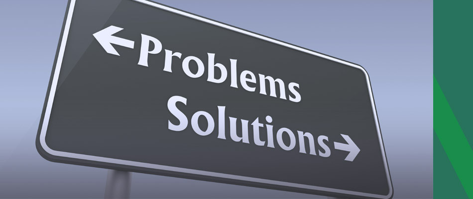 turn problems into solutions