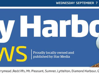 2 x Bay Harbour News Articles on Coastal Hazards