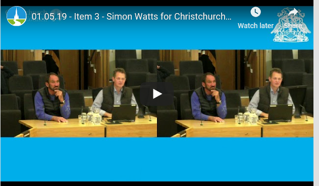 Simon Watts for CCRU at CCC meeting May 2019