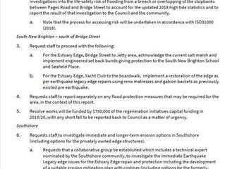 Estuary Edge Repair RESOLUTION