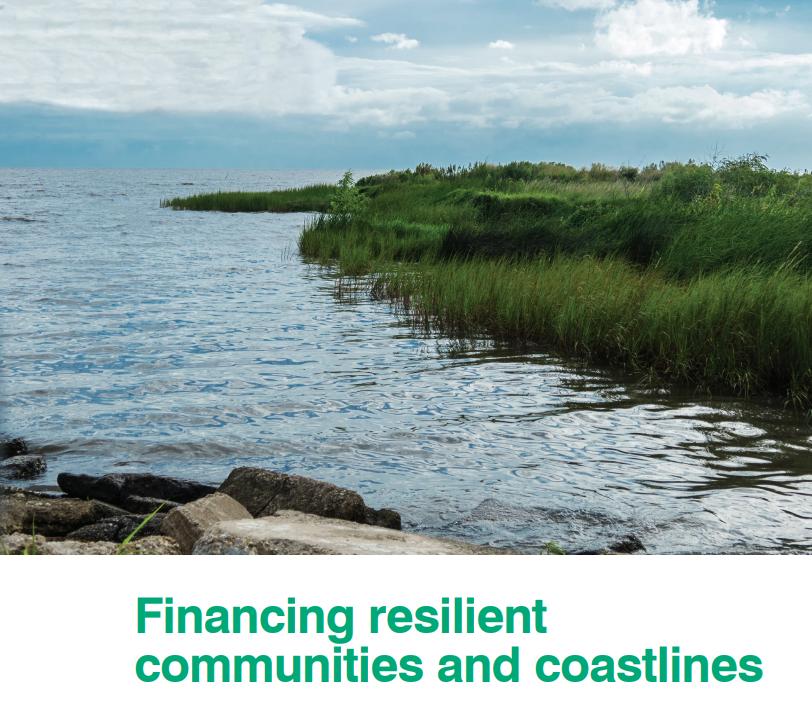 Financing resilient communities & coastlines
