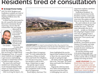 Coastal residents have consultation fatigue!