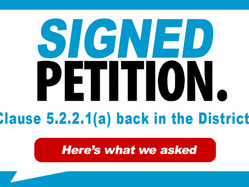 Presenting the petition