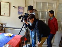 Equipe de la TV FUJI Japonaise.