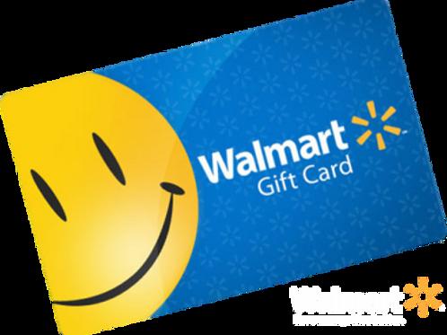 $50.00 Wal-Mart GIft Card
