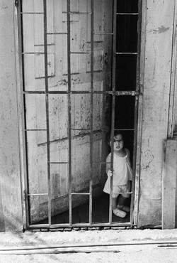 Child Behind Gate