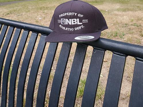 NBL BLACK/SILVER SNAPBACK