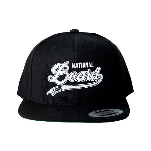 WHITE & BLACK NBL SNAPBACK HAT