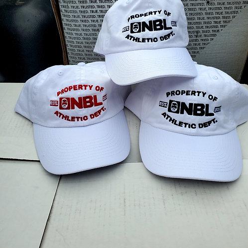 NBL DAD HATS NAVY RED BLACK