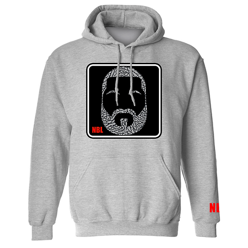 NBL CEMENT 3'S GREY HOODIE