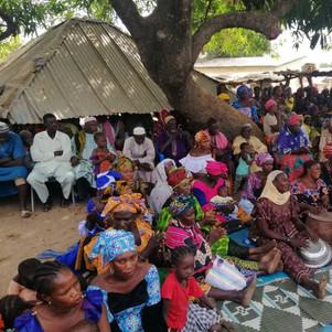 The crowd at Ngadeu Kibbeh