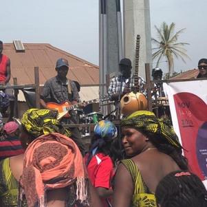 Jaliba performing in Gunjur