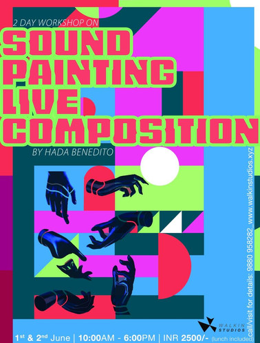 Sound Paiting live composition