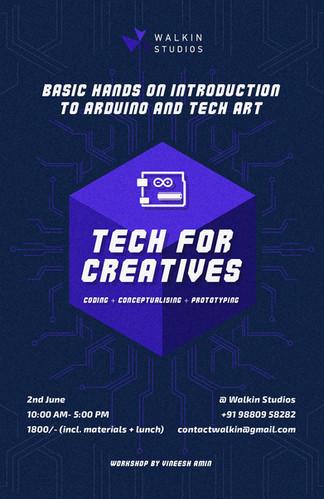 Tech for creatives