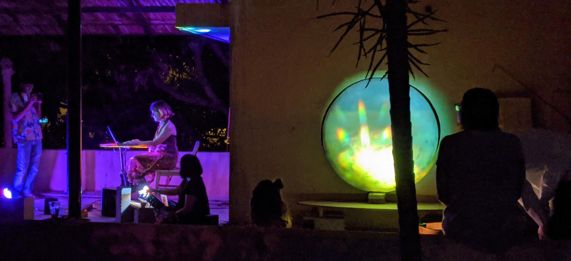 Terrace 2 Performace by Sofy Yuditskaya and Ria Rajan