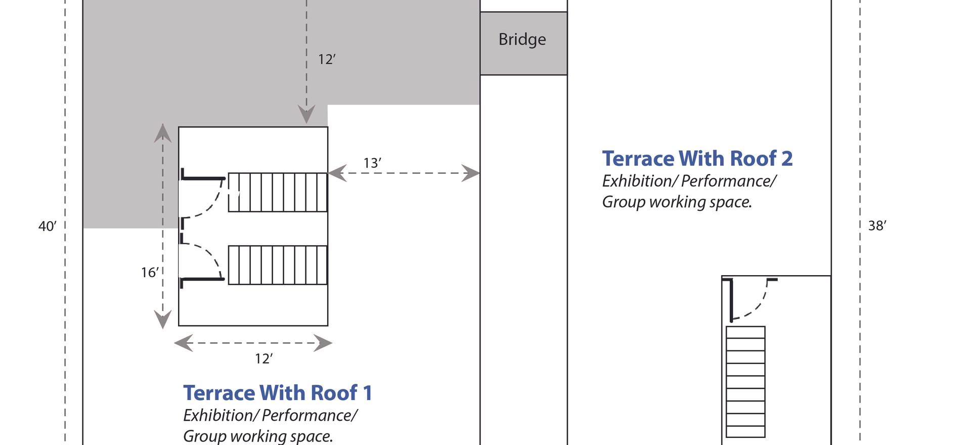 Terrace 1 & 2