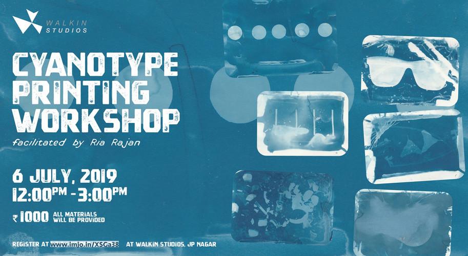 Cyanotype Printing