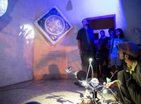 Room 1 Sound and light expereince by Sofy Yuditskaya and Ria Rajan