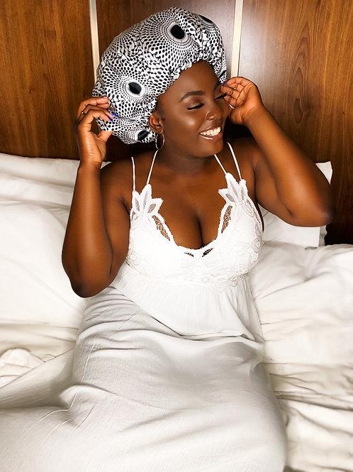 Minimalist Babe- Reversible Afrochic Bonnet