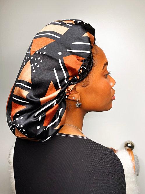 Naija Babe Reversible Afrochic Bonnet