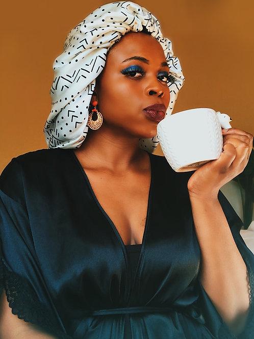 Nubian Babe Reversible Afrochic Bonnet
