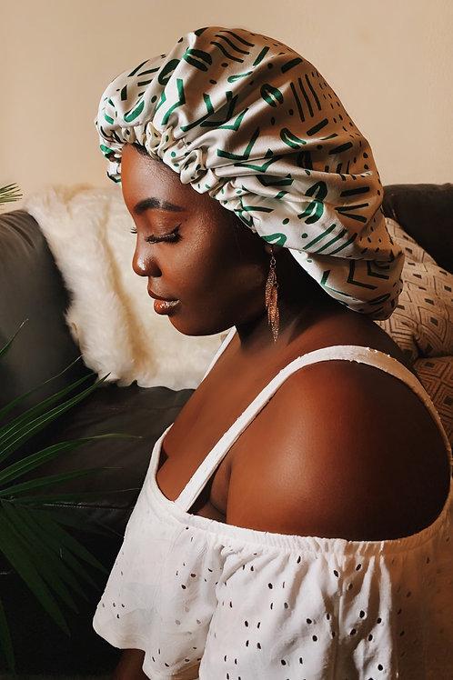 Luxe Babe - Reversible Afrochic Bonnet