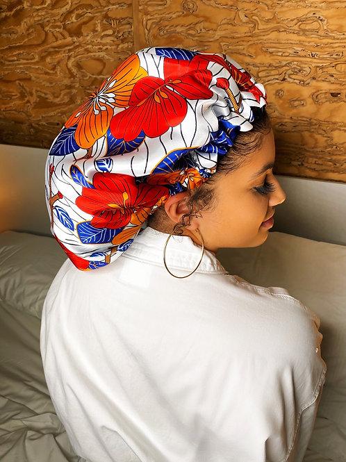 Unforgettable Babe- Reversible Afrochic Bonnet