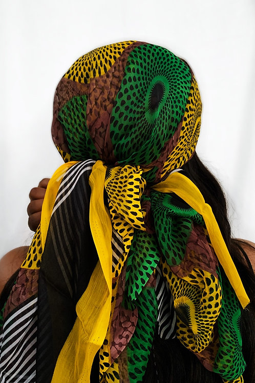 Makeda - Afrochic Wrap