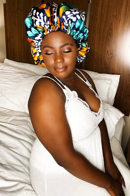 Conscious Babe - Reversible Afrochic Bonnet