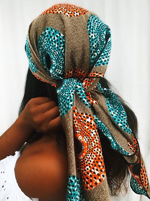 Muna - Afrochic Silk Wrap