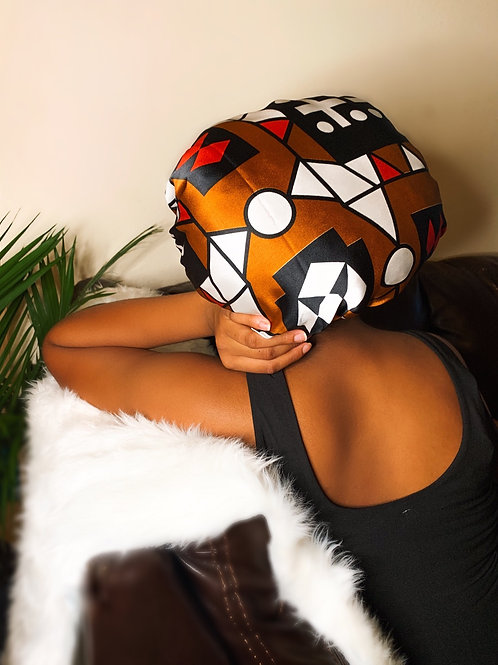 Effortless Babe - Reversible Afrochic Bonnet