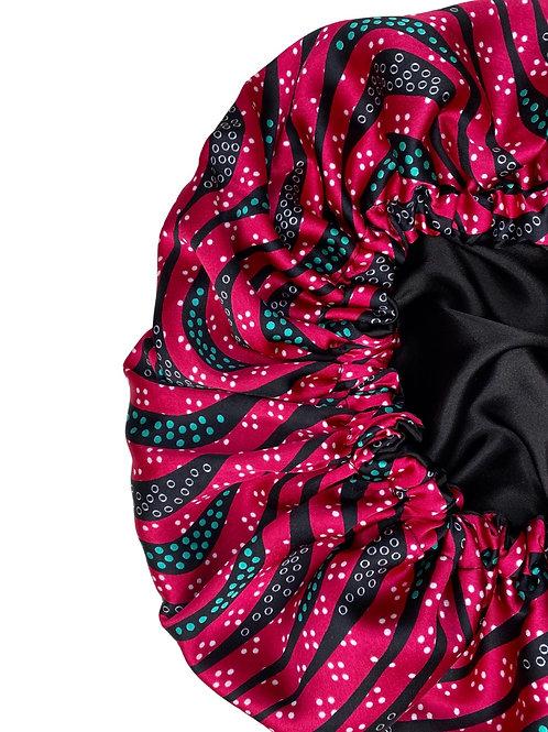 Wild Babe- Reversible Afrochic Bonnet