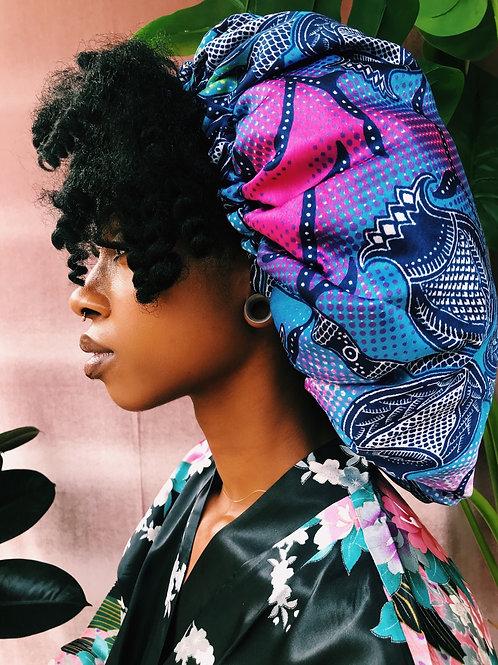 Queenin Babe Afrochic Bonnet