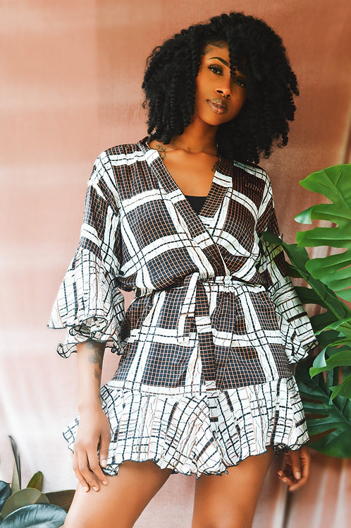 Ms Exotic- Afrochic Silk Robe